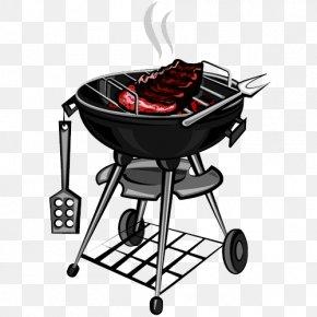 Realistic Barbecue Rack - Barbecue Shashlik Shish Kebab Ribs PNG