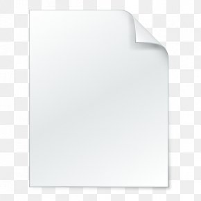 Drawing Document Icon - Rectangle PNG