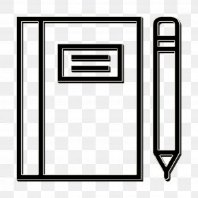 Rectangle Notebook Icon - Essential Set Icon Notebook Icon PNG