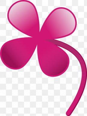 Four Leaf Clover Art - Four-leaf Clover Shamrock Saint Patrick's Day Clip Art PNG