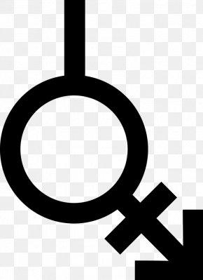 Gender Symbol - Bigender Lack Of Gender Identities Gender Symbol Neutrois PNG