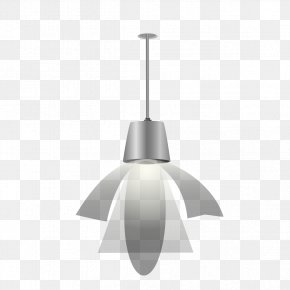 Chandelier Hanging On The Wall - Lighting Light Fixture Electric Light PNG