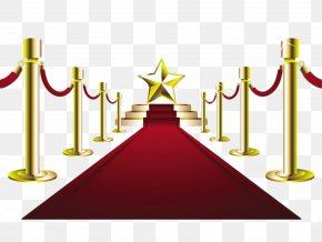 Red Carpet Stage Scenery - Stock Photography Red Carpet Clip Art PNG