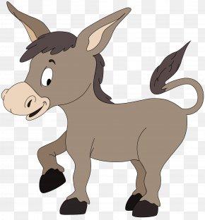 Donkey - Donkey Pixabay Clip Art PNG