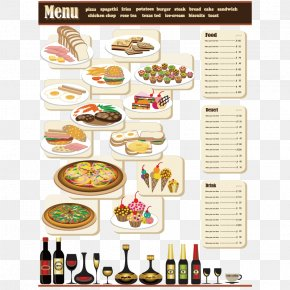 Menu - Fast Food Italian Cuisine Pizza Menu PNG