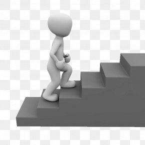 The Man Who Stairs On The Stairs - Stairs Clip Art PNG