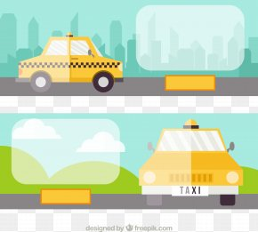 Taxi Announcement - Taxi Download Illustration PNG