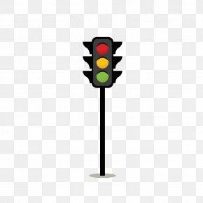 Cartoon Vertical Traffic Lights - Traffic Light Chemical Element Street PNG