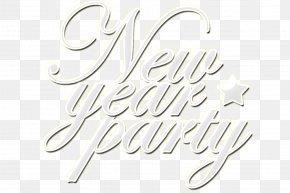 Happy New Year English - English Alphabet Happy New Year PNG