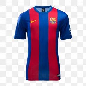 Fc Barcelona - FC Barcelona La Liga UEFA Champions League T-shirt PNG