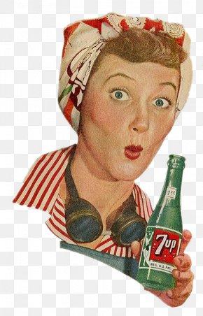 Soda Woman - Orange Soft Drink Cola Wink PNG