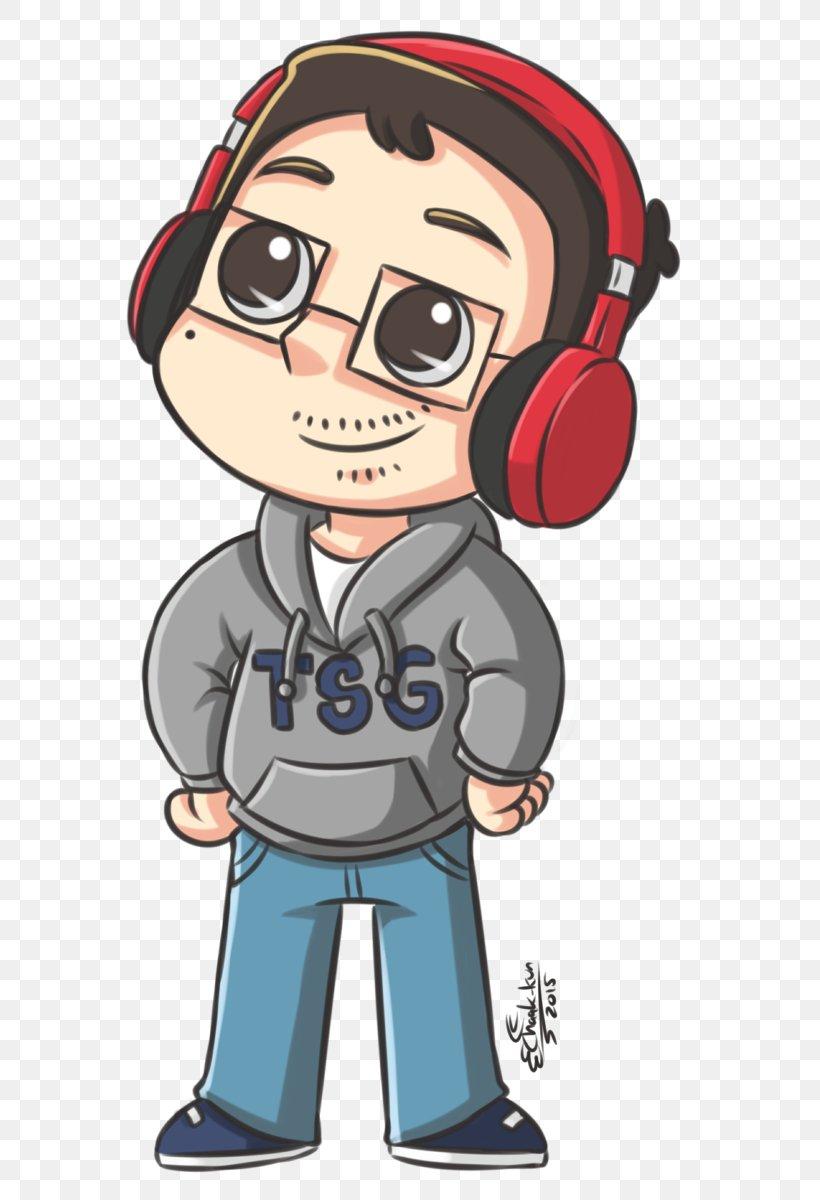 Youtube Fan Art Cartoon Gamer Png 587x1200px Watercolor Cartoon Flower Frame Heart Download Free