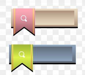 Color Ribbon Search Box - Search Box PNG