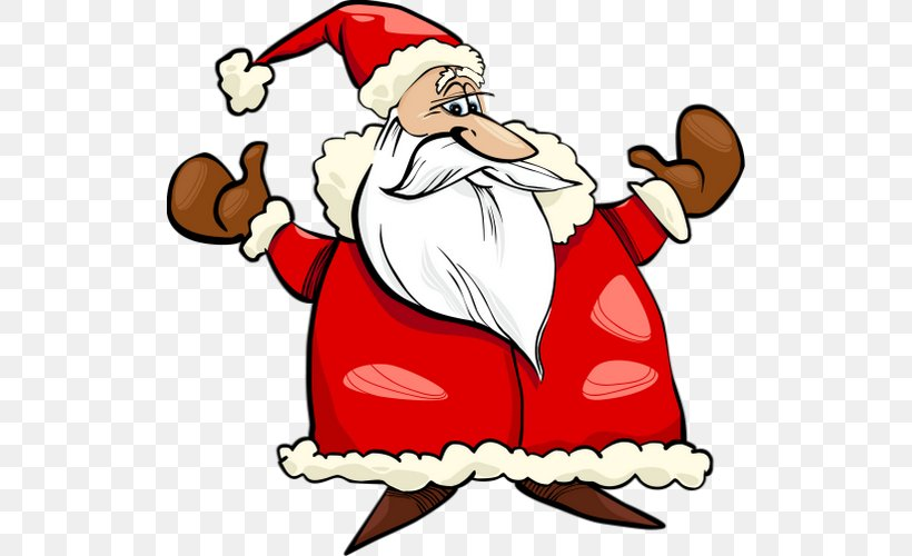 Santa Claus Christmas Day Vector Graphics Stock Photography Clip Art, PNG, 520x500px, Santa Claus, Art, Cartoon, Christmas, Christmas Day Download Free