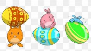 Easter Clip Art Easter Egg OpenclipartRebal Badge - Easter Bunny Lent PNG