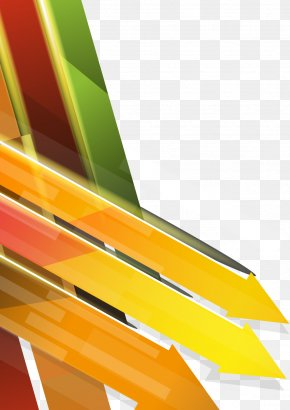 Vector Colorful Arrow Combination Of Technology Business Background - Euclidean Vector Arrow Download PNG