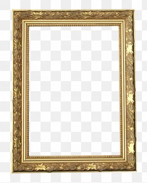 Frame Gold - Picture Frames Stock Photography Decorative Arts Molding Ornament PNG