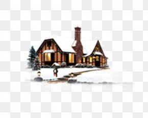 Snow House - Snow Christmas PNG
