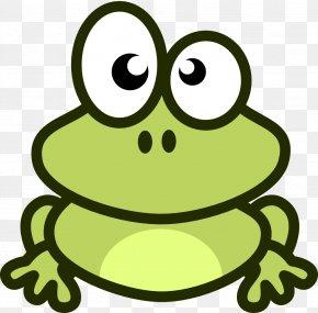 Frog Picture Cartoon - Frog Cartoon Clip Art PNG