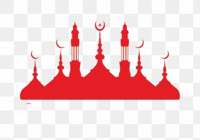 Islamic Buddhist Temple - Mosque Silhouette Islam PNG