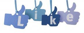 Like Us On Facebook - Social Media Facebook Zero Facebook Like Button PNG