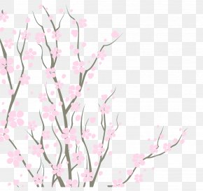 About Bubble - Cherry Blossom Watercolor Painting Watercolor: Flowers PNG
