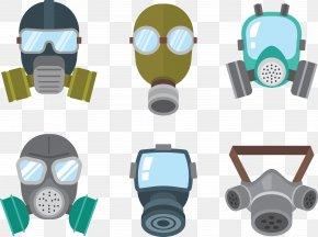 Protective Mask - Gas Mask Respirator PNG