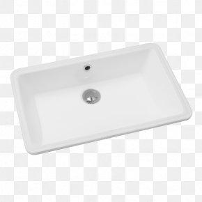 Ceramic Basin - Kitchen Sink Bathroom Angle PNG