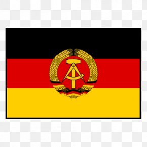 Flag - West Germany East Berlin Flag Of East Germany Flag Of Germany PNG