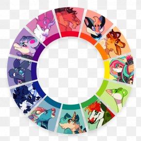 Color Wheel Drawing DeviantArt Fan Art PNG