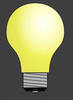 No Light Cliparts - Incandescent Light Bulb Electric Light Electricity Clip Art PNG