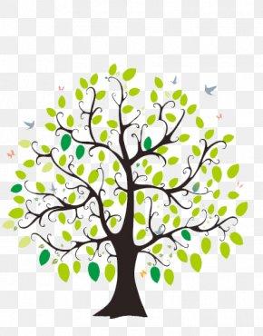 Lush Tree - Lam Tsuen Wishing Trees Paper Twig Illustration PNG