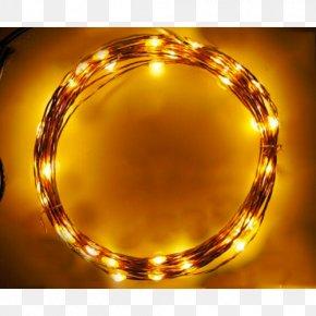 String Lights - Lighting Light-emitting Diode LED Lamp PNG