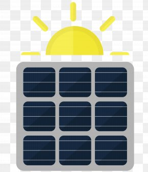 Vector Cartoon Solar Energy - Solar Energy Cartoon PNG