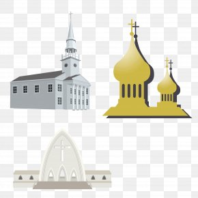 Church Collection Vector Material - Facade Download Illustration PNG