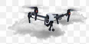 Drone Clipart - Mavic DJI 4K Resolution Quadcopter Unmanned Aerial Vehicle PNG