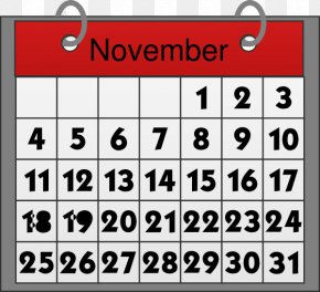 November Cliparts - Calendar May Clip Art PNG
