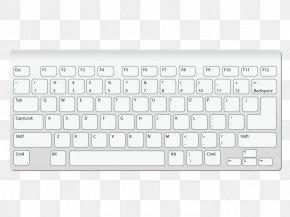Vector Keyboard - Computer Keyboard Macintosh Computer Mouse Laptop Clip Art PNG