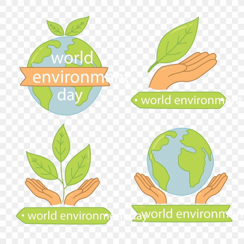 World Environment Day Natural Environment Euclidean Vector Leaf, PNG, 1600x1600px, Earth, Area, Brand, Clip Art, Environment Download Free