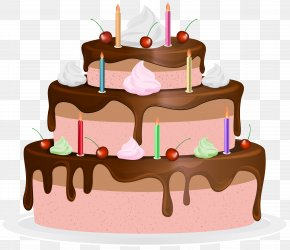 Birthday Cake Transparent Clip Art Image - Birthday Cake Clip Art PNG