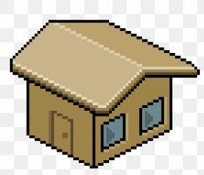 House - House Pixel Art Drawing Roof Clip Art PNG