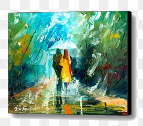 Canvas Print - Painting Acrylic Paint Canvas Print Art PNG