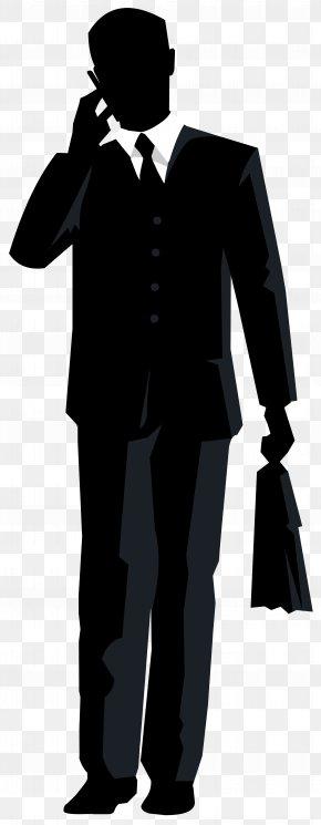 Businessman Silhouette Transparent Clip Art Image - Clip Art PNG