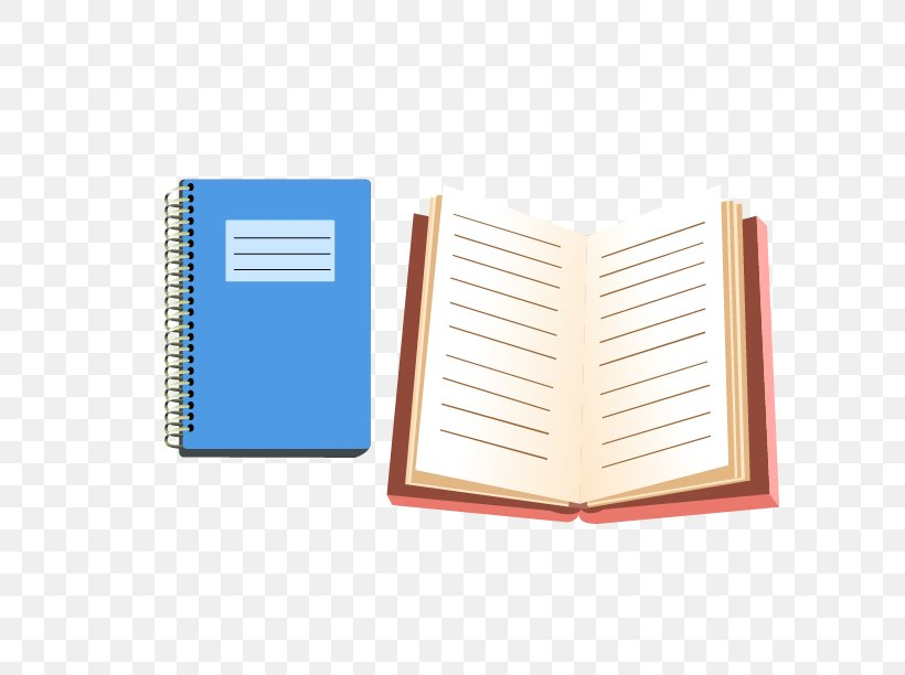 Paper Notebook School Supplies Stationery, PNG, 612x612px, Paper, Book, Designer, Learning, Material Download Free