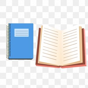 Notebook - Paper Notebook School Supplies Stationery PNG