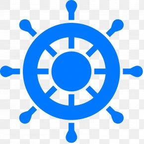 Wheel Of Dharma - Ship's Wheel Boat Clip Art PNG