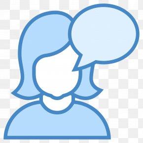 Talk Icon - User Icon Design PNG