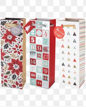 Gift Bags - Gift Wrapping Bag Paper Christmas PNG