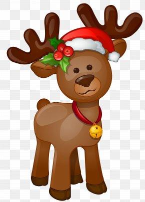 Rudolph Clip Art Image - Rudolph Santa Claus Christmas Clip Art PNG