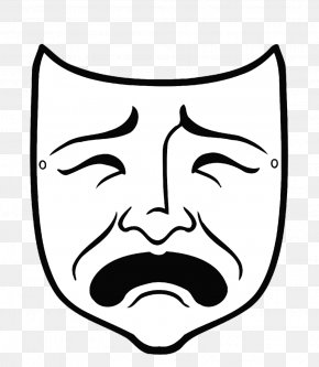 Mask - Theatre Of Ancient Greece Drama Tragedy Mask PNG